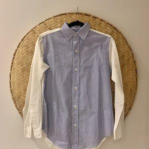 Woman's Current Elliot Striped Button Down Shirt